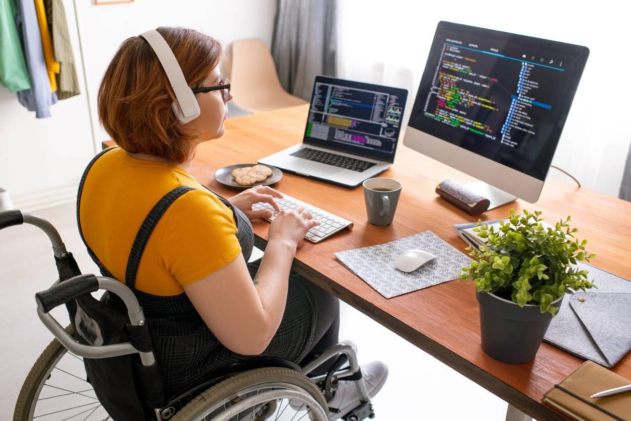 Travailleur en situation de handicap portage salarial